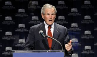 Former President George W. Bush (Associated Press)