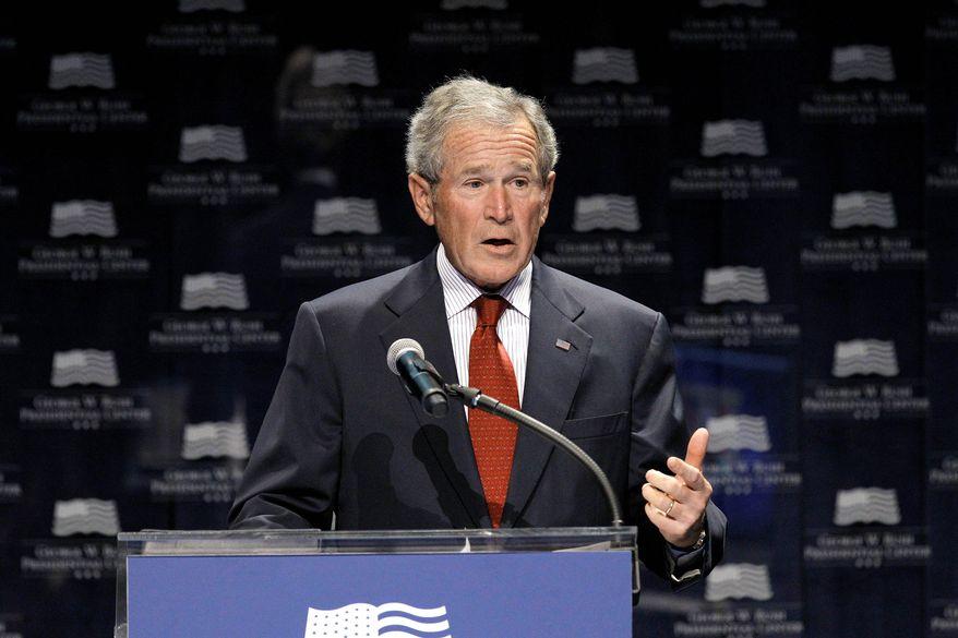 Former President George W. Bush (Associated Press)