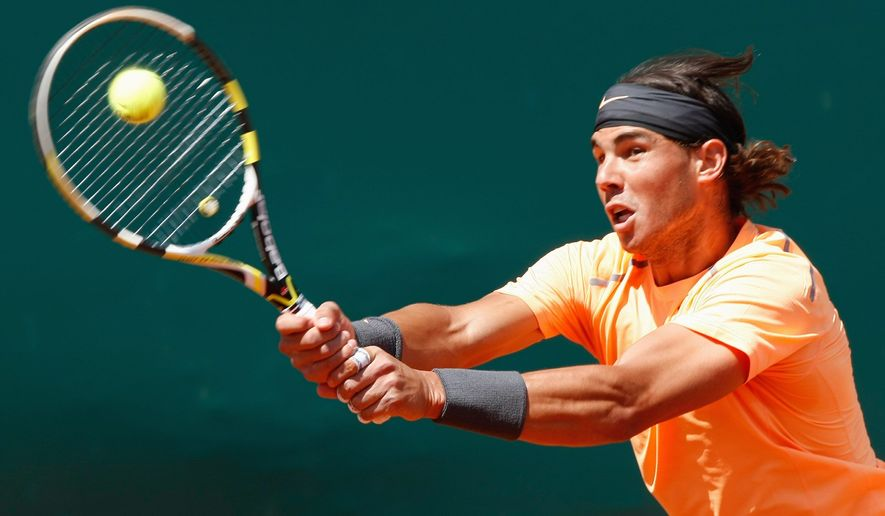 Rafael Nadal, who ended a run of seven losses to Novak Djokovic in title matches, has won 42 straight matches in the Monte Carlo Masters. He won his first title since last year's French Open. (Associated Press)