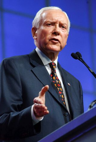 Sen. Orrin G. Hatch (Associated Press/The Salt Lake Tribune)