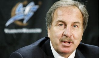 Washington Wizards president and general manager Ernie Grunfeld