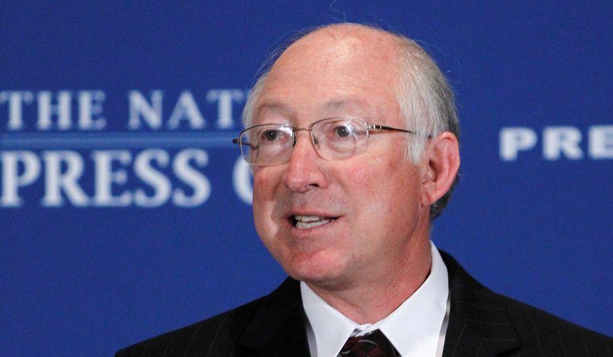 Former Interior Secretary Ken Salazar. ** FILE **