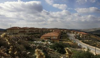Israel has legalized the unauthorized West Bank outpost of Bruchin, shown in 2008. (AP Photo/Ariel Schalit)