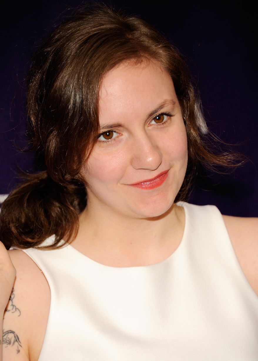 """Actress Lena Dunham attends the world premiere of """"Supporting Characters"""" during the Tribeca Film Festival on Friday, April 20, 2012 in New York. (AP Photo/Evan Agostini)"""
