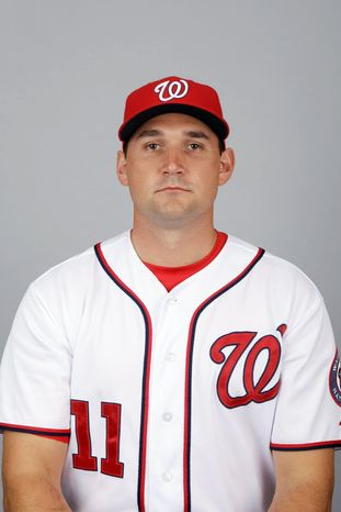 Nationals third baseman Ryan Zimmerman is batting .224 with one home run and seven RBI. He hasn't played since going 0 for 3 in a 2-0 win over Miami on April 20.Zimmerman. (Andrew Harnik/The Washington Times)