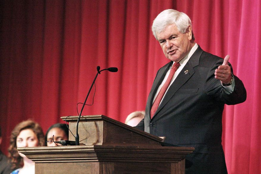 Newt Gingrich spent lavishly on his quixotic presidential campaign, including $1.6 million in March alone for travel and $271,000 to himself, according to FEC records. (Associated Press)