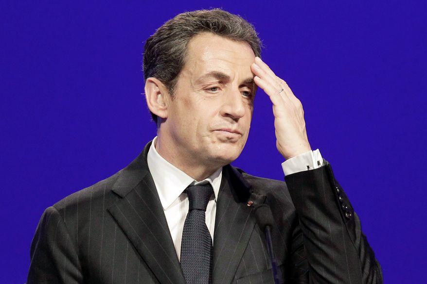 Nicolas Sarkozy (Associated Press)