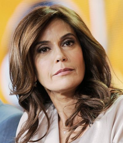 """I think you just can't really know what it's going to feel like until it's over,"" actress Teri Hatcher says about ending ""Desperate Housewives."" (Associated Press)"