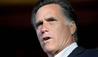 """GOP presidential nominee-in-waiting Mitt Romney said Monday that """"even Jimmy Carter"""" would have authorized the hit on Osama bin Laden. (Associated Press)"""