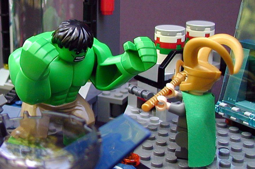 lego avengers hulk vs thor - photo #14