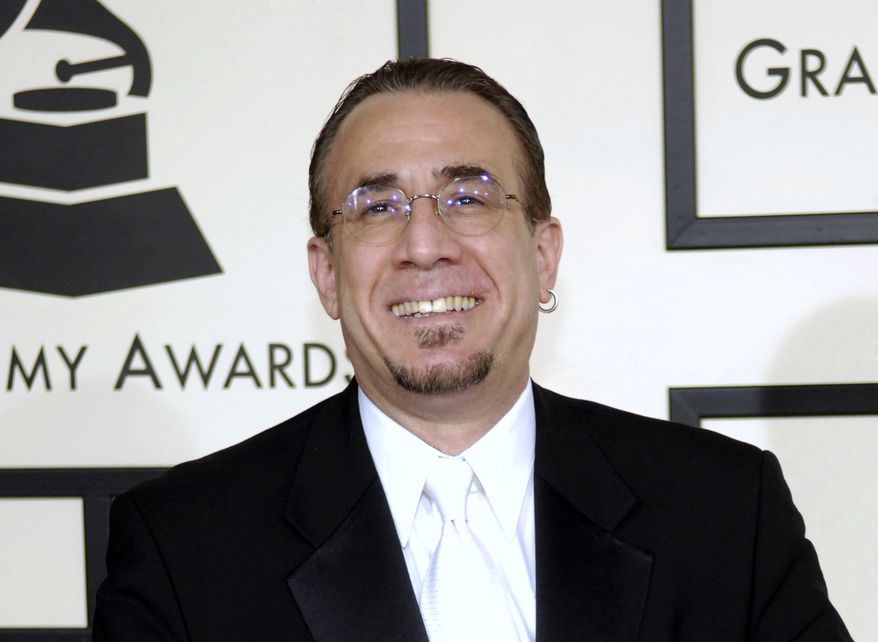 **FILE** Jazz musician Bobby Sanabria arrives Feb. 10, 2008, at the 50th Annual Grammy Awards in Los Angeles. (Associated Press)