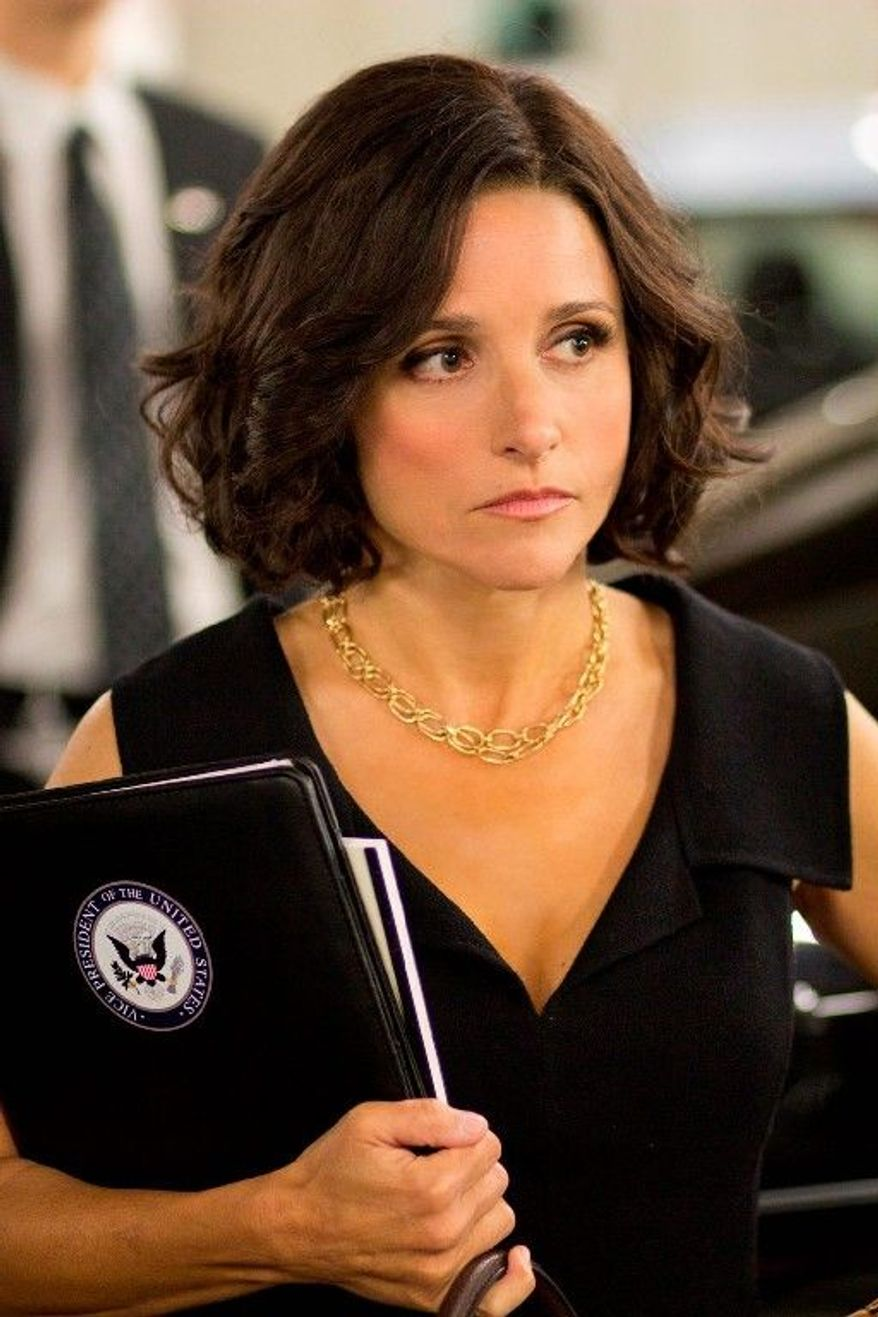 "Julia Louis-Dreyfus stars in the new HBO series ""Veep."" The show was picked up for a second 10-episode season. (Associated Press)"