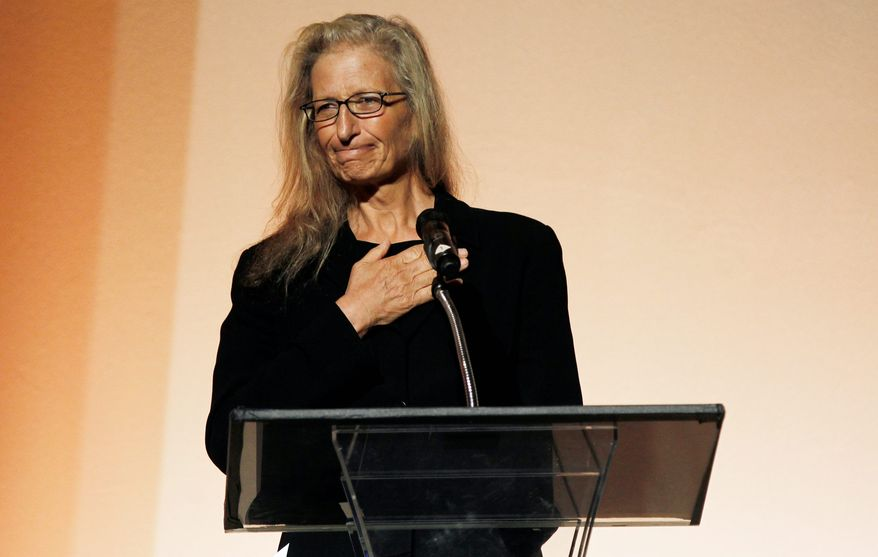 Photographer Annie Leibovitz on Tuesday was honored by the Los Angeles Museum of Contemporary Art at a private luncheon in Beverly Hills, Calif. (Associated Press)