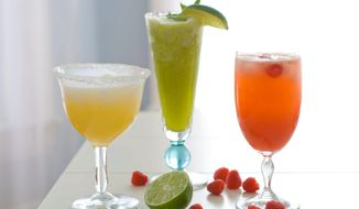 Assorted cocktails  (AP Photo/Matthew Mead)