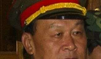 **FILE** Chinese Defense Minister Gen. Liang Guanglie (Associated Press)