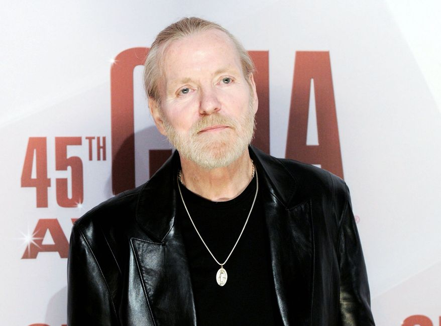 "Gregg Allman said his ""My Cross to Bear"" memoir represents his most honest and open discussion of his life. He talks in-depth about his rocky relationships, including his spur of-the-moment flight to Las Vegas for his marriage to Cher. (Associated Press)"