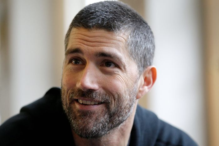 """Actor Matthew Fox of """"Lost"""" fame has been charged with drunken driving after being stopped early Friday in Bend, Ore. He has a court appearance scheduled for June 17. (Associated Press)"""