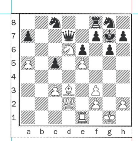 Gvetadze-Batsiashvili after 25...Qxd7.
