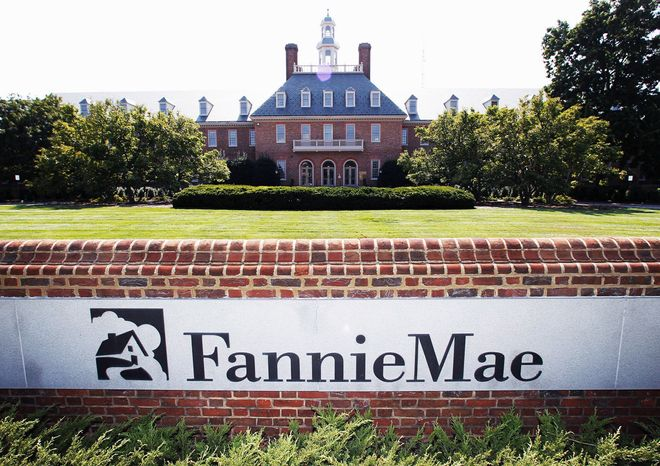 ** FILE ** Fannie Mae. (Associated Press)