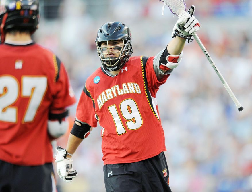 Senior attackman Joe Cummings was part of Maryland's unseeded tournament team from 2011 that lost to Virginia in the NCAA championship game. (Associated Press)