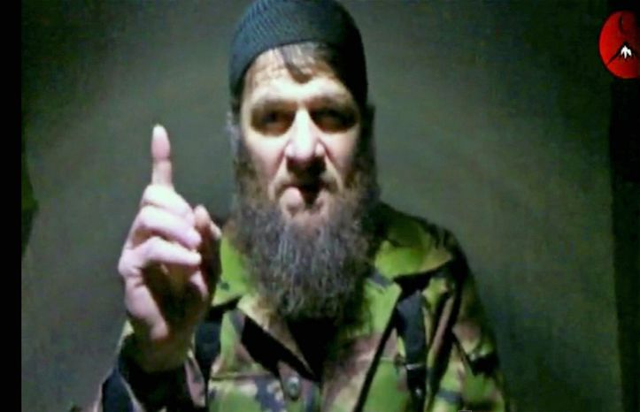 A video showing Chechen insurgent leader Doku Umarov was released Feb. 7, 2011, after a deadly suicide bombing at Russia's largest airport for which he claimed responsibility. Russian authorities say Chechen separatists were involved in a foiled plot targeting Sochi, the site of the 2014 Winter Olympics. (Associated Press)