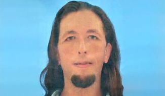 ** FILE ** This undated photo provided by the Hardeman County (Miss.) Sheriff's Department shows Adam Mayes. (AP Photo/Hardeman County (Miss) Sheriff's Department, File)