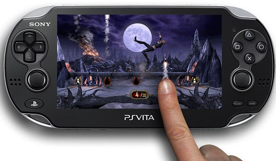 Uses a finger to fire a missile in one of the mini-challenges found in the video game Mortal Kombat for the PlayStation Vita.