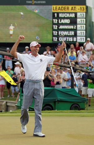Matt Kuchar's win in The Players Championship was the fourth of his career and first since the Barclays in 2010. (Associated Press)