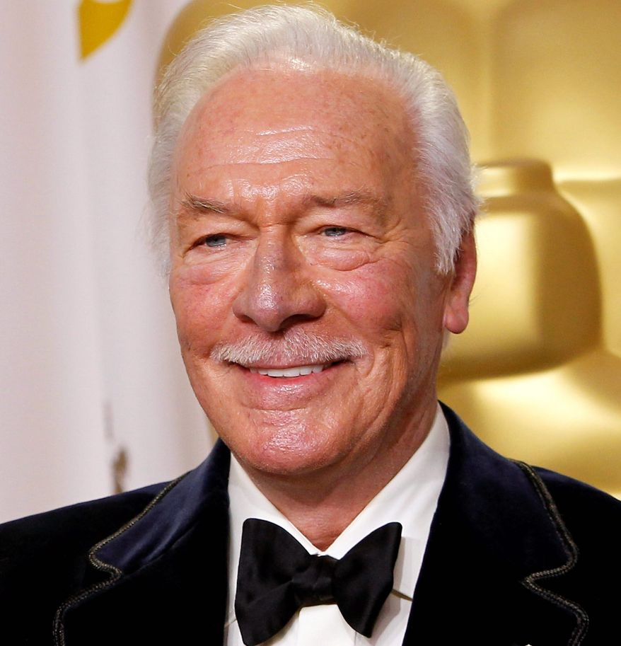 "Two Christopher Plummer stage performances are headed to movie theaters. ""The Tempest"" will be screened June 14 and ""Barrymore"" in the U.S. in October. (Associated Press)"