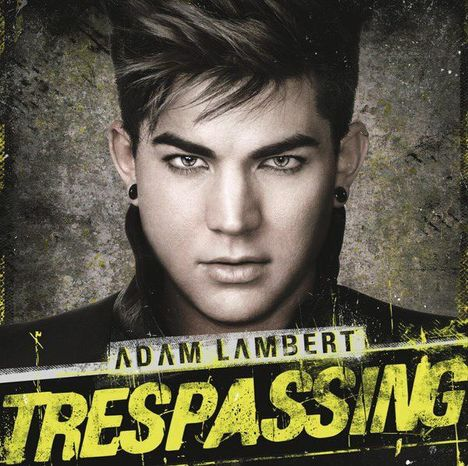 """In this CD cover image released by RCA, the latest release by Adam Lambert """"Trespassing,"""" is shown. (AP Photo/RCA)"""