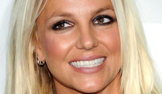 Pop tart Britney Spears, thought by some to have conservative Republican leanings, has in fact been largely apolitical. (Associated Press)