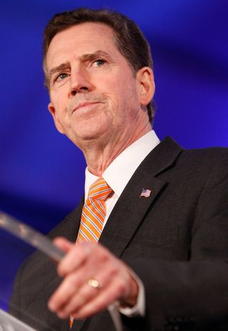 """""""We're in a bidding war with China and Europe to see who can subsidize the most loans,"""" said Sen. Jim DeMint, South Carolina Republican. (Associated Press)"""