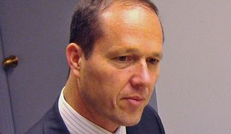**FILE** Nir Barkat, mayor of Jerusalem (The Washington Times)