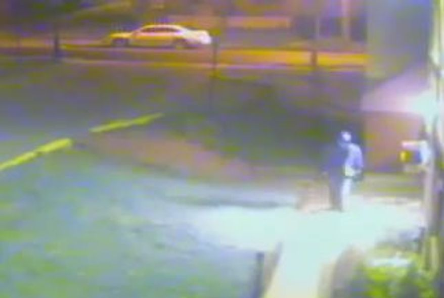 """The Metropolitan Police Department released surveillance footage of a """"person of interest"""" in an attack on a pregnant woman during which her baby was fatally stabbed while in her womb."""