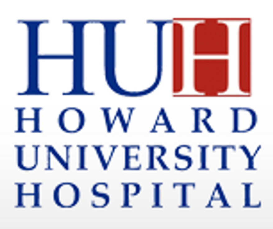 Howard University Hospital logo.