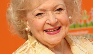 Actress and animal lover Betty White will tour the National Zoo on Friday during her visit to Washington. (Associated Press)