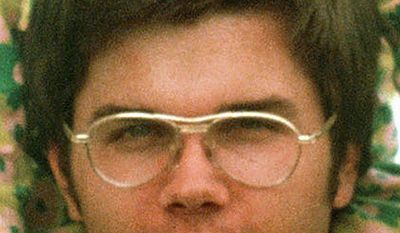 Mark David Chapman, shown in 1975, has been moved to a prison near Buffalo, N.Y. He was convicted of killing John Lennon. (Associated Press)