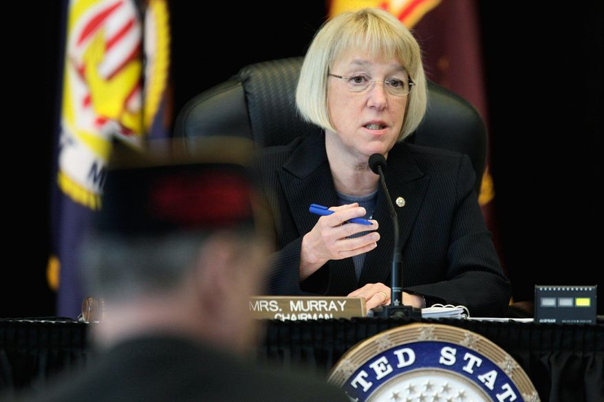 ** FILE ** Sen. Patty Murray, Washington Democrat. (Associated Press)