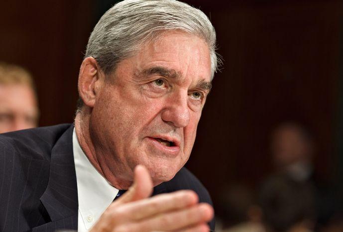 **FILE** FBI Director Robert S. Mueller III testifies on May 16, 2012, on Capitol Hill before the Senate Judiciary Committee. (Associated Press)