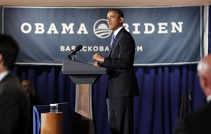 President Barack Obama speaks at a fundraiser hosted by singer Ricky Martin and the LGBT Leadership Council at the Rubin Museum of Art, Monday, May 14, 2012, in New York. (AP Photo/Pablo Martinez Monsivais)