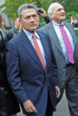 Jury selection for the insider trading trial of Rajat Gupta (left), the former board member for Goldman Sachs and Procter & Gamble, begins on Monday. He is charged with one count of conspiracy to commit securities fraud and five counts of securities fraud. (Associated Press)