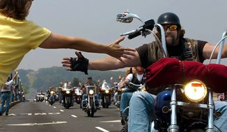 The Washington Times covers Rolling Thunder (Slideshow)