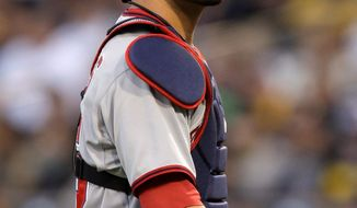 Washington's Jesus Flores is batting .292 since starting catcher Wilson Ramos was injured May 12. (Associated Press)