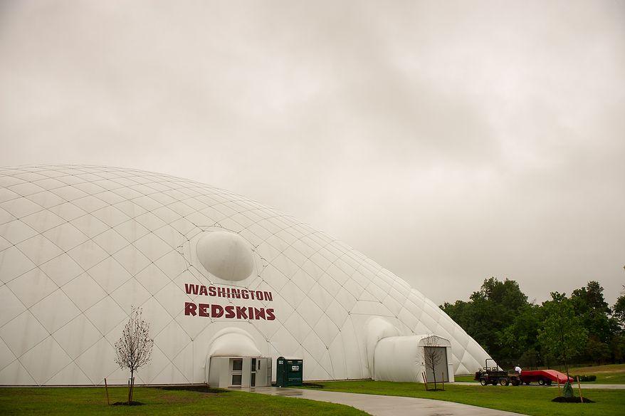 Redskins Park in Ashburn, Va. (Andrew Harnik/The Washington Times)