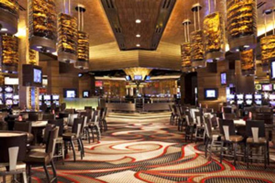 Snapshots posted on an internal GSA website of the venues used during the $823,000 four-day affair in Las Vegas in 2010.