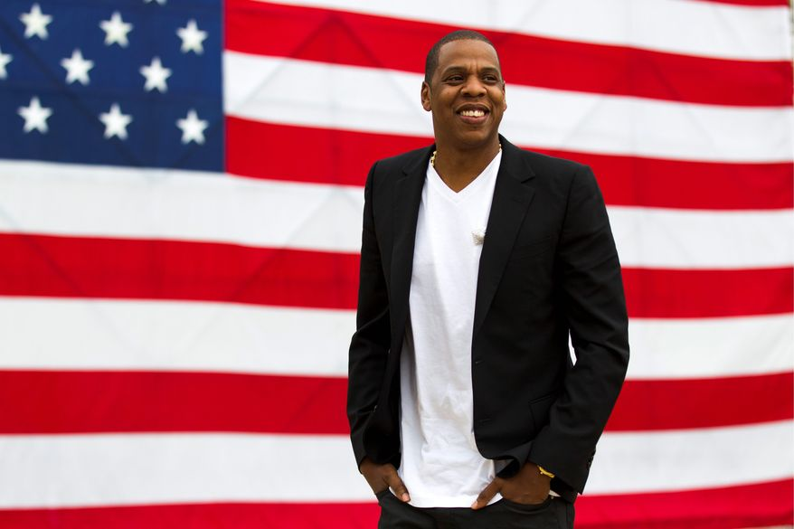 Jay-Z talks about plans for a benefit music festival he is putting together in Philadelphia over Labor Day weekend. (Associated Press)