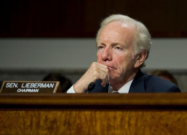 Sen. Joseph I. Lieberman, Connecticut independent (Barbara L. Salisbury/The Washington Times)