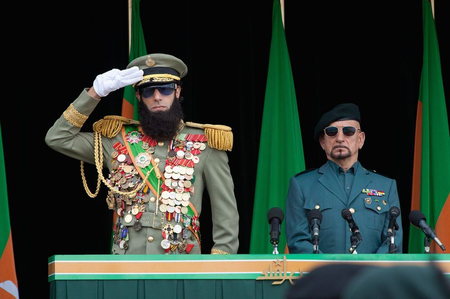 "Sacha Baron Cohen stars in the title role of his new film ""The Dictator,"" which has been a dud at the box office. (Paramount Pictures)"