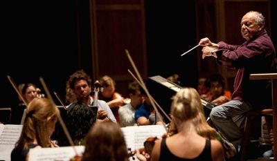 Internationally renowned conductor Lorin Maazel has developed the Castleton Festival, held in a tent on his Virginia estate, into a resounding success for music lovers.