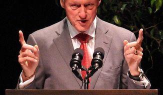 Former President Bill Clinton (AP photo)